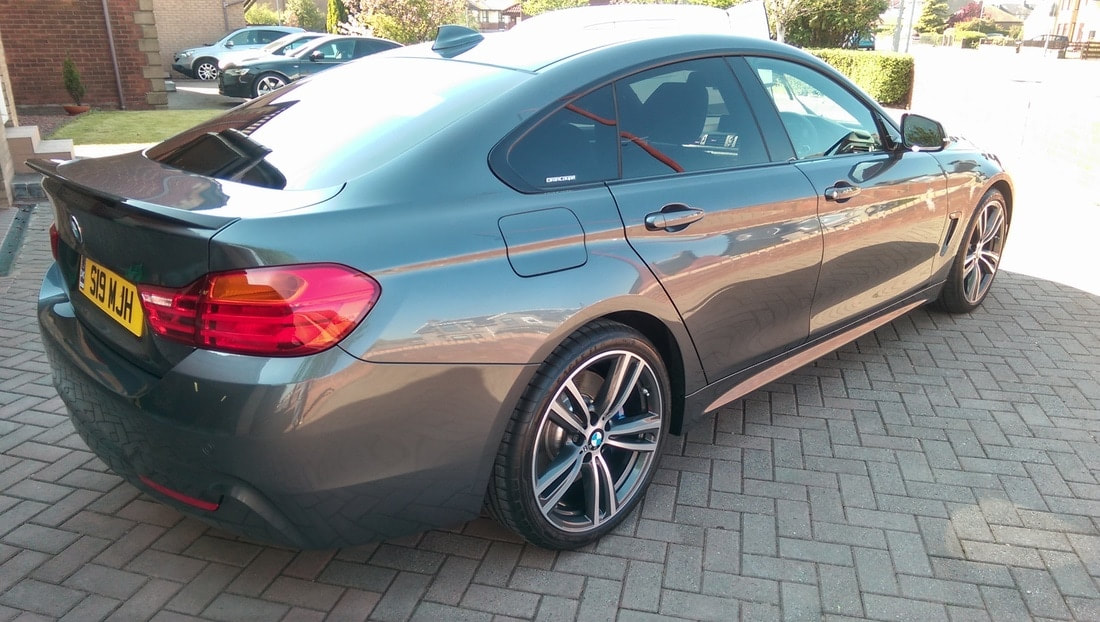 BMW 4 Series Gran Coupe Fictech CAR LIFT New Car Prtection Package
