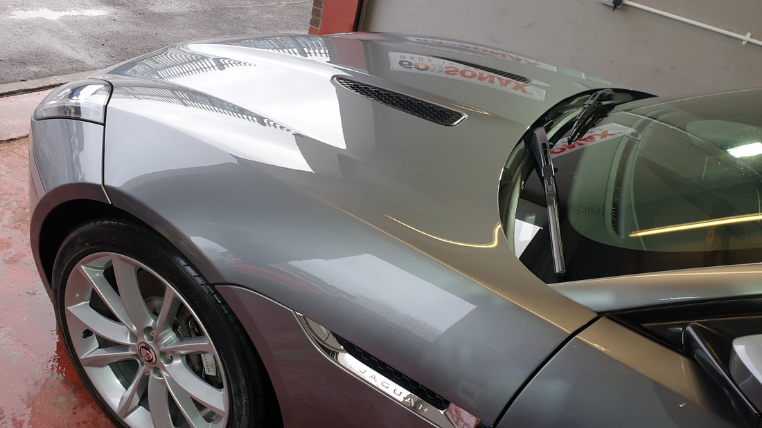 Car Paint Protection - Jaguar F-Type.