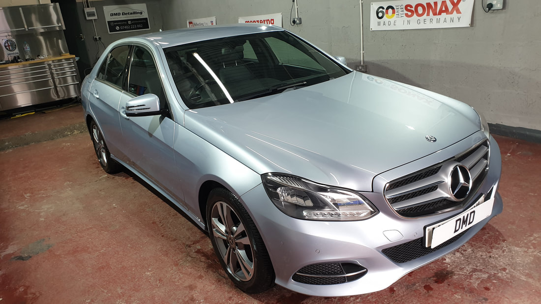 Car Paint Protection - Mercedes E220.