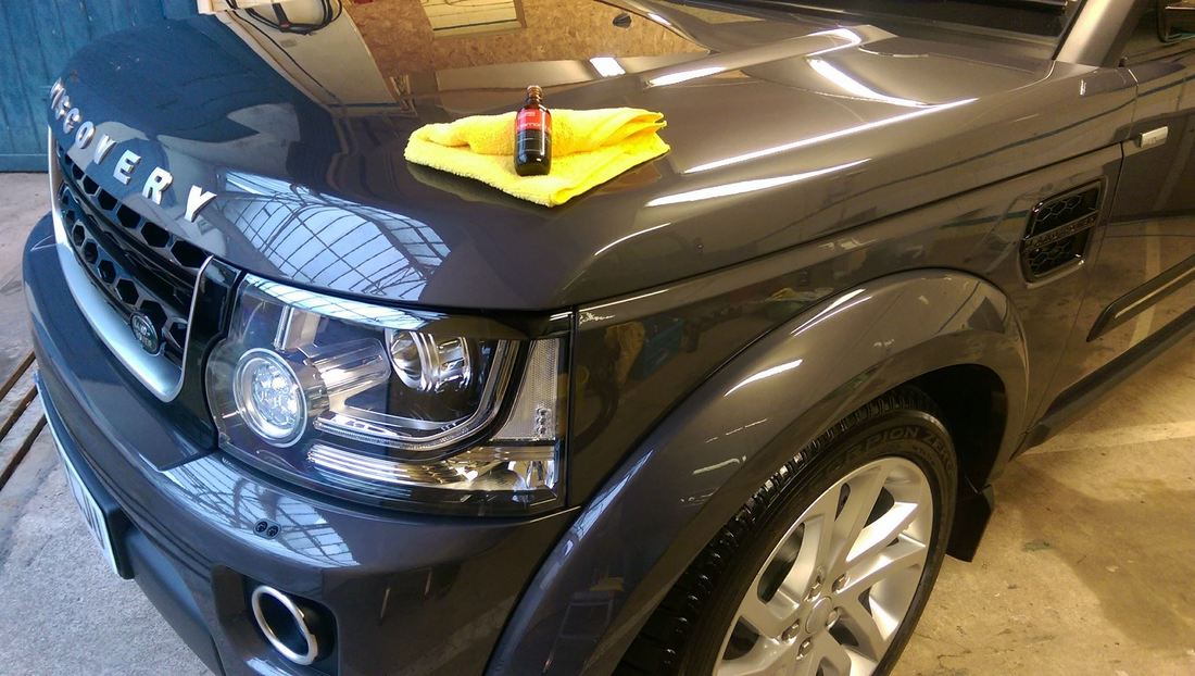 Ceramic Paint Protection - Land Rover Discovery