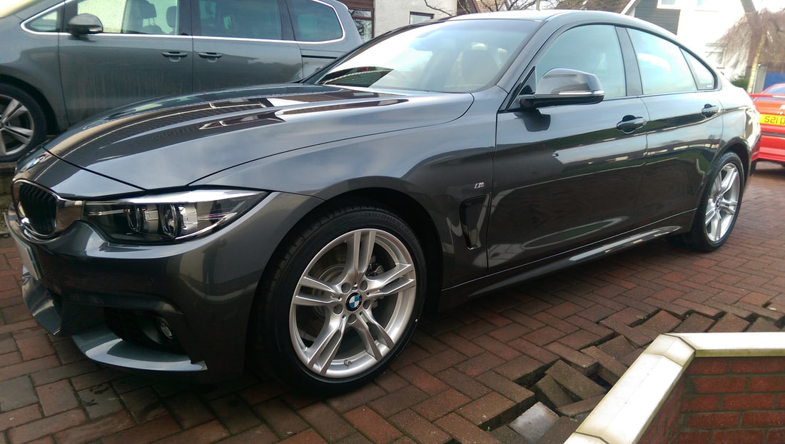 New Car Detail & Ceramic Coating Service - BMW Gran Coupe