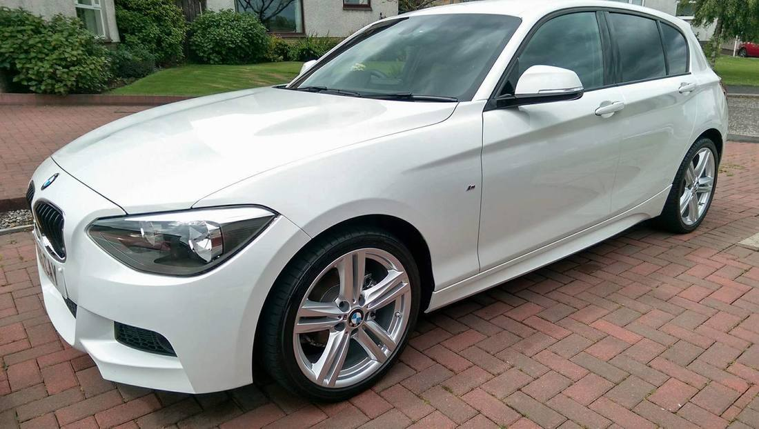 BMW 120i Fictech CAR LIFT New Car Protection Package