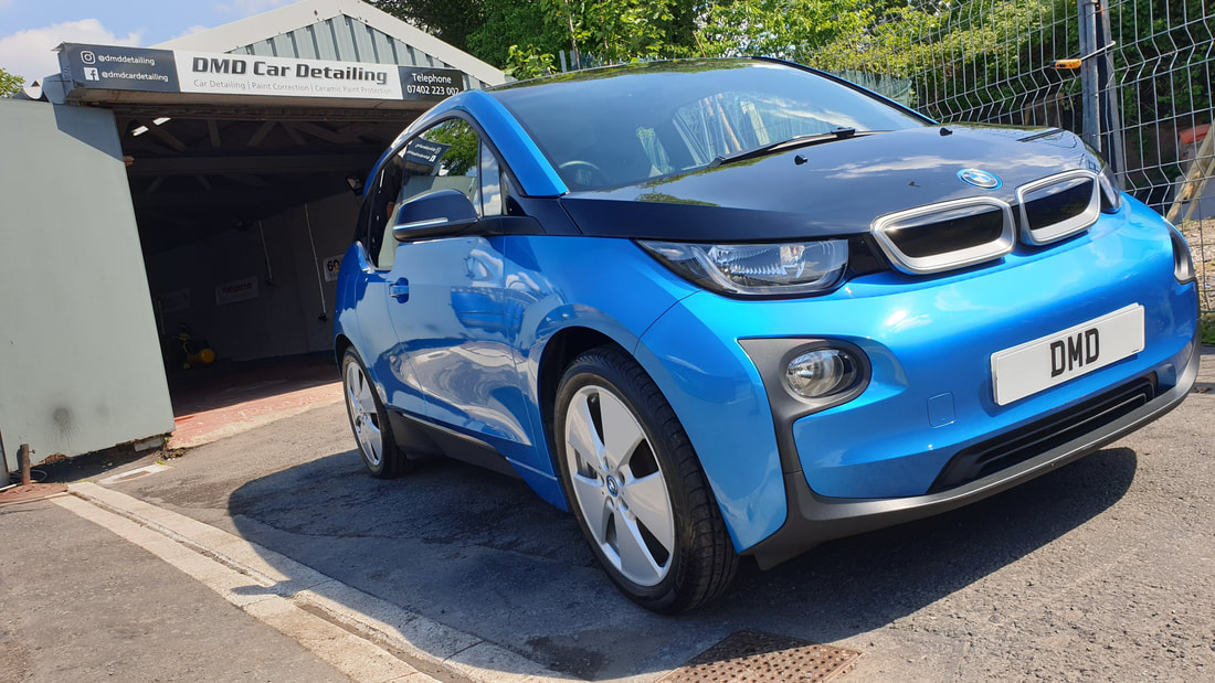 Interior & Exterior Car Detailing - BMW i3