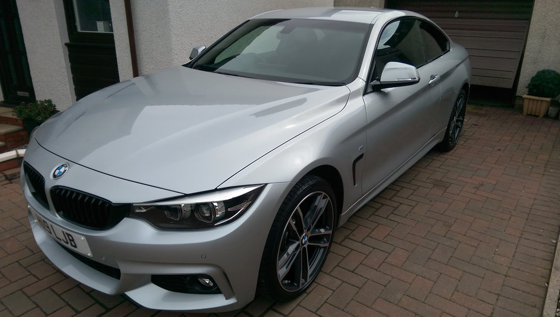 BMW 420i KubeBond Diamond 9H New Car Protection Package
