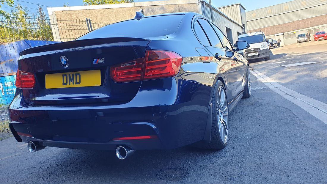 Major Paint Correction detail - BMW 335d