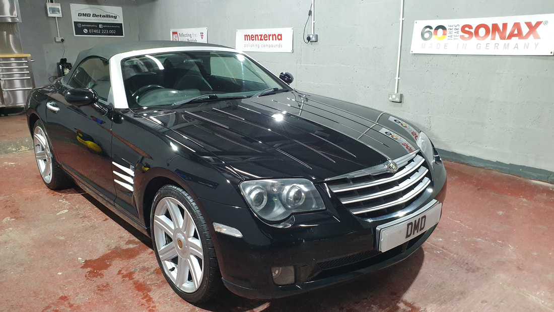 Minor Paint Correction Detail - Chrysler Crossfire.