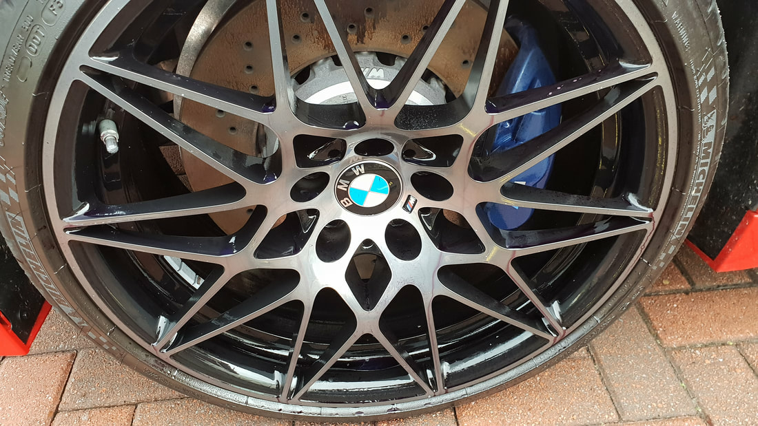 BMW Paint Protection - BMW M4 New Car Paint Protection