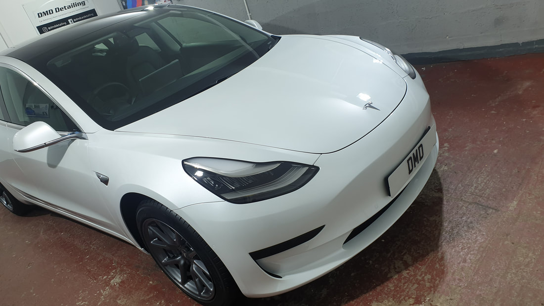 New Car Paint Protection Detail - Tesla Model 3