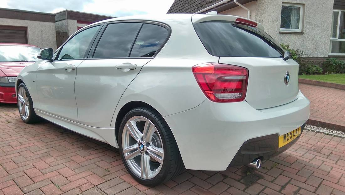 New Car Protection Package - BMW 120i