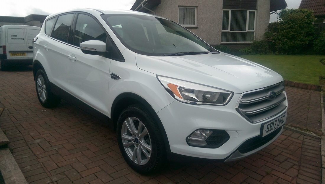 New Car Protection Package - Ford Kuga