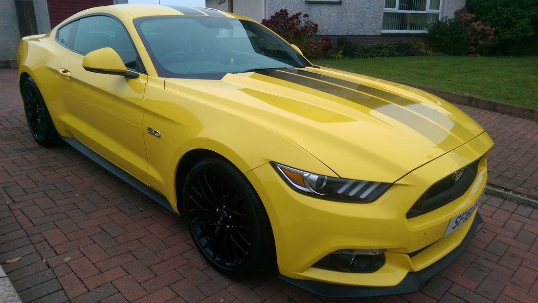 New Car Protection Package - Ford Mustang GT