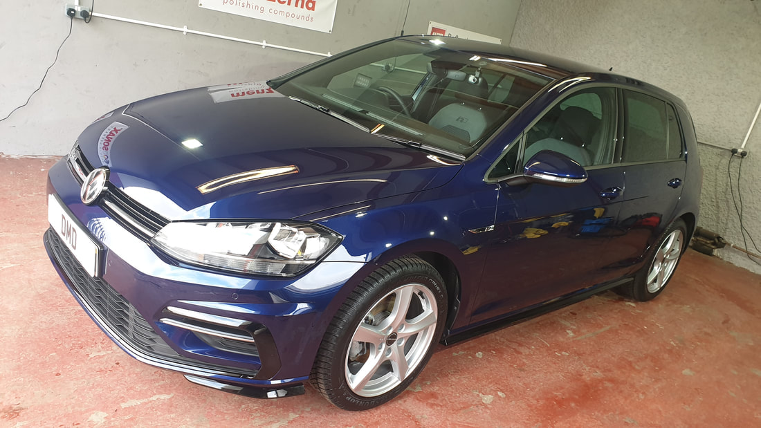 Paint Correction Service - Volkswagen Golf R Line.