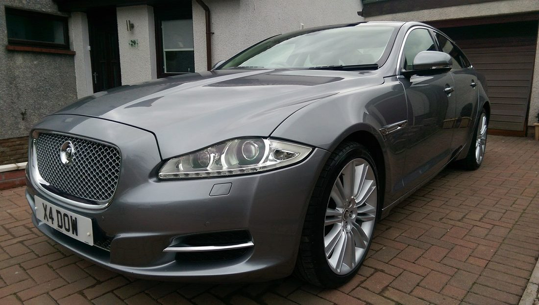 New Car Protection package carried out by car detailing specialist near Glasgow