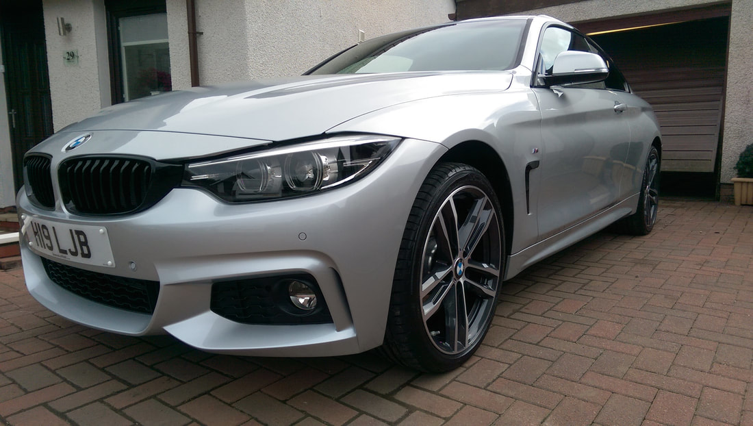 Car Detailing Paisley, BMW 420i New Car Protection Package.