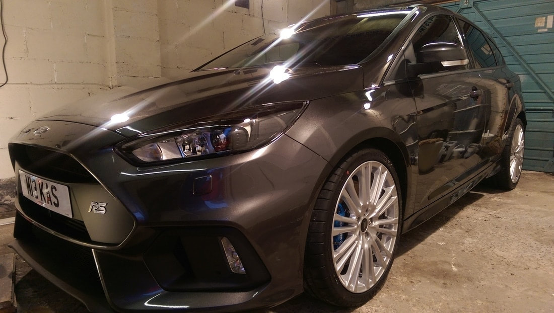 Car Detailing Paisley, Ford Focus RS New Car Protection Package.
