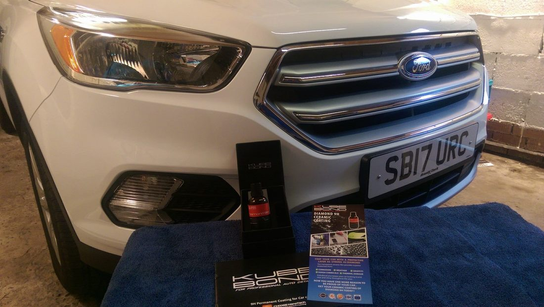 New Car Protection package carried out by Car Detailing Specialist near Paisley
