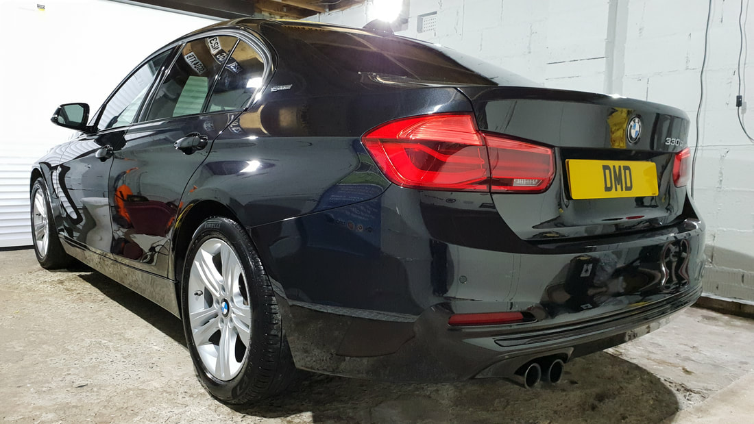 BMW Paint Protection & Paint Correction