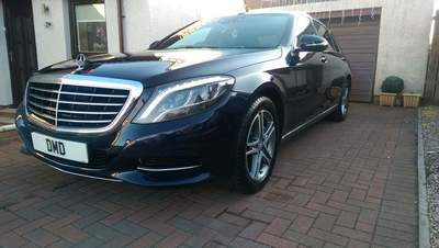 Mercedes S Class Stage Two Paint Correction & KubeBond Diamond 9H Ceramic Coating