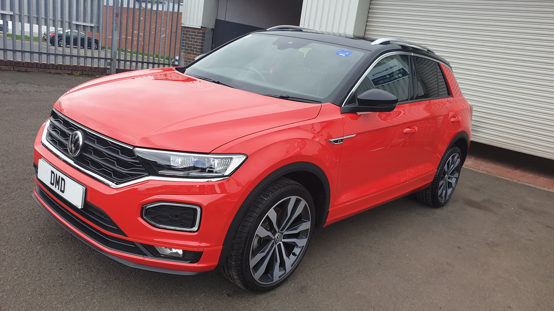 Platinum Paint Correction Detail - Volkwagen T- Roc