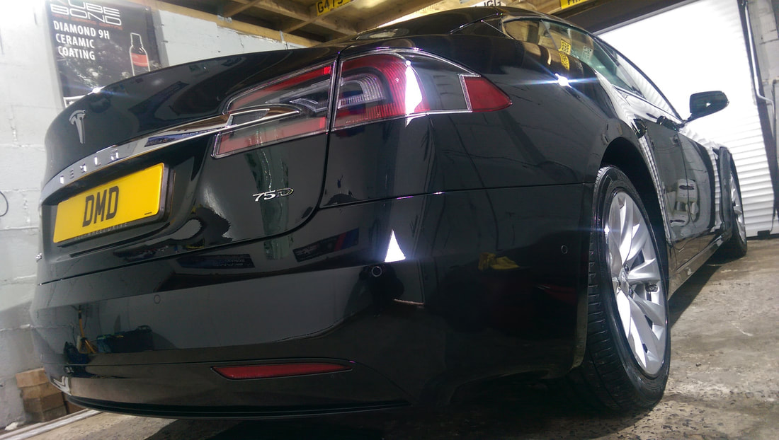 Stage One Paint Correction - Tesla Model S 75D